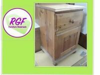 Sale Now On!! Pine Bedside Table / Cupboard - Can Deliver for £19