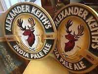 WANTED - Alexander Keith's Wooden Beer Sign