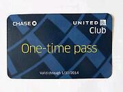 United Club Pass
