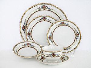 Vintage Victoria 219 Czcho china dinnerware set