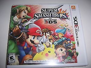 Super Smash Bros game for Nintendo 3ds