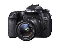 Canon EOS 70D Camera DSLR Plus extras