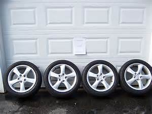 2000-2017 Mazda ALUMINUM RIMS AND NEW TIRES ONLY 400!!!