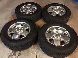 """18"""" Toyota Tundra Sequoia rims nokian hakkapeliitta winter tires"""