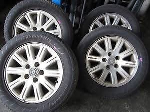 Mixed 4x4 off-road wheels and tyres  Oxley Brisbane South West Preview