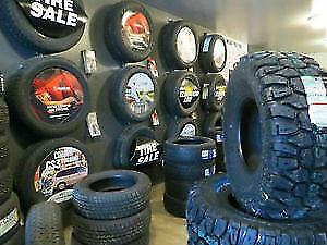 Advertising and retail and wholesale tire sales