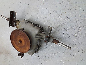 ISO of lawnmower gearbox