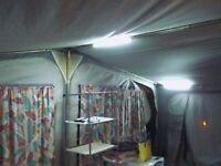 6m Flexy-Light 12v waterproof lighting kit suitable for market stall, gazebo, outdoor events, etc.