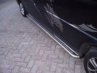 Volkswagen Transporter T5 LWB Stainless Steel side bars step