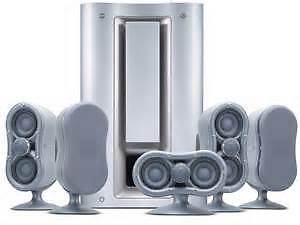 5 speakers Sony SS-MS835 ED Extended Definition avec Subwoofer