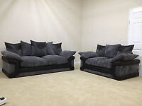 BRAND NEW SOFAS WITH NEXT DAY DELIVERY AVAILABLE