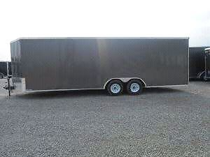 Extra height New 2017 8.5x24 enclosed trailer