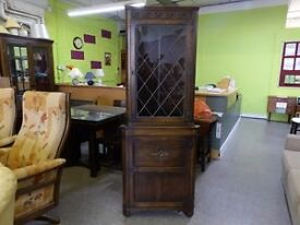XMAS SALE NOW ON!! Corner display Cabinet By Jaycee - VGC - Can Deliver For £19