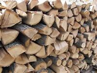 Fire wood logs well seasoned dry hardwood firewood