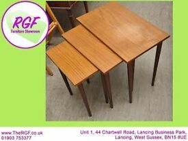SALE NOW ON!! Nest of 3 Tables - Can Deliver For £19
