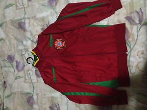 Portugual Kappa soccer team jacket zip up embroided
