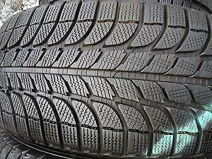 4 Michelin X-Ice winter tires of size 205/60/R15