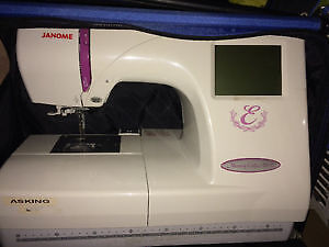Embroider machine