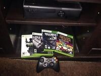 XBOX 360 WITH GAMES!