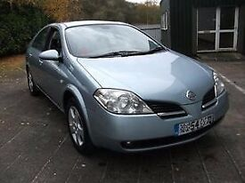 2004 (54) NISSAN PRIMERA 1.8 SE JUST 80,000 MILES FULL SERVICE HISTORY 1 PREVIOUS OWNER