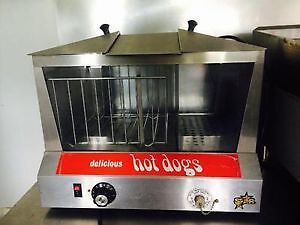Star Hot Dog Steamer AS Show Excellent Condition