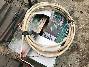 fil electric cable wire cuivre # 3/3 1x30 pieds