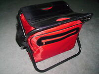 FOLDING CHAIR @ INSULATED COOLER BAG - NEW