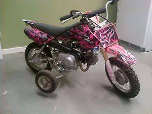 Honda 50 crf - Girls Fmf - Dirt Bike
