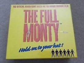 The full Monty Board Game Brand new and sealed