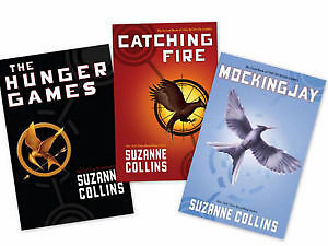 The Hunger Games Trilog Set in Box - 3 Novels by Suzanne Collins