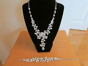 necklace, bracelet, and earrings - BRAND NEW