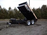 Dump trailer for hire 12ft