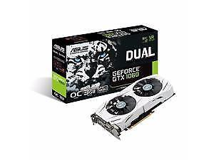 ASUS DUAL FAN GTX 1060 3 GB OC (overclocked by the factory)