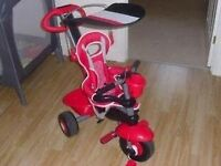 RED SMART TRIKE AS NEW