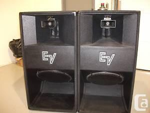ev electro voice speakers wanted cerwin vega wanted