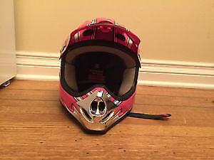 ATV Helmet. Female Y/L