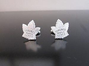 Birks Toronto Maple Leafs Silver Plated Cuflinks
