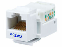 Cable network wiring, Cat5e, Cat6, Cat6a. For voice and data.