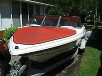 MINT Grew 17' Bow rider! With Trailer! Must See!