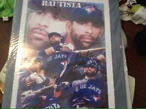 Jose Bautista autographed poster print