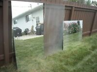 Mirrors and Frosted Glass (3 pieces)