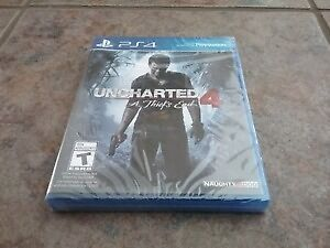 band new Uncharted 4: A Thief's End ps4 playstation 4 game