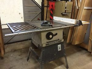 -woodworking machines for sale-table saw Rokwell London Ontario image 4