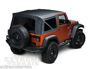 Jeep Wrangler rock rail side steps