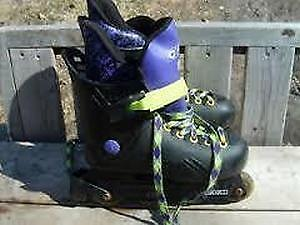 Excellent Condition: Rollerblades, Boy's Size 4, Girl's Size 6