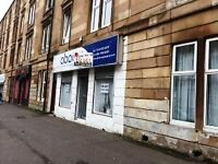 Double frontage shop for Let on Albert Road Crosshill avail End of October 16