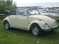 1970 Convertible Volkswagen Beetle Very good condition