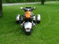 EXHAUST DOUBLE POUR CANAM SPYDER RS