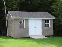 SHEDS- BABY BARNS - GARAGES -  You name it we can build it.