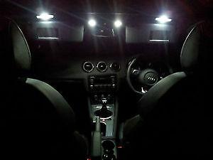 Audi Tt Mk2 Mk 2 2006 Onwards Led Interior Lights Bulbs Kit Xenon White Ebay